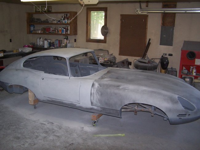 1963 Jaguar Series 1 XKE FHC Restoration - Part 23