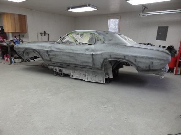 1970 Panther Pink Challenger Restoration - Part 19